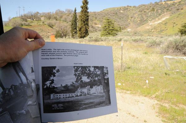 Comparing The Lebec Hotel Site With An Image In Harrison Scott S Book Lost Hotels On California Historic Ridge Route A Pictorial History