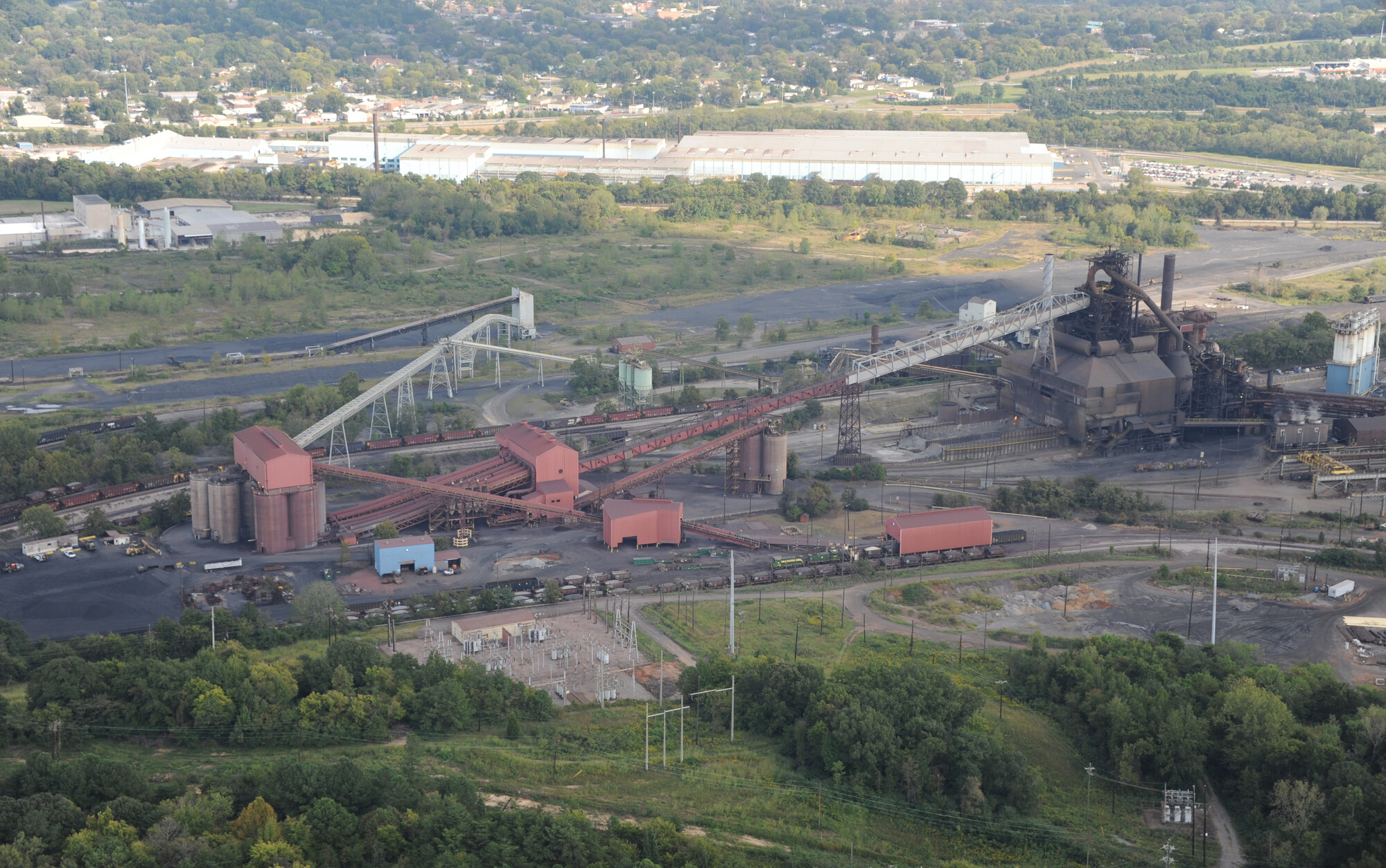 U S Steel S Fairfield Works Is The Largest Producer Of New Raw Steel In The Southeastern United States It Uses Iron Ore Taconite Pellets S Metal