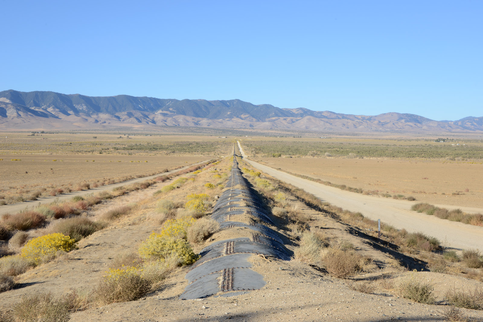 Los Angeles California Aqueduct Intersection California Show On Map