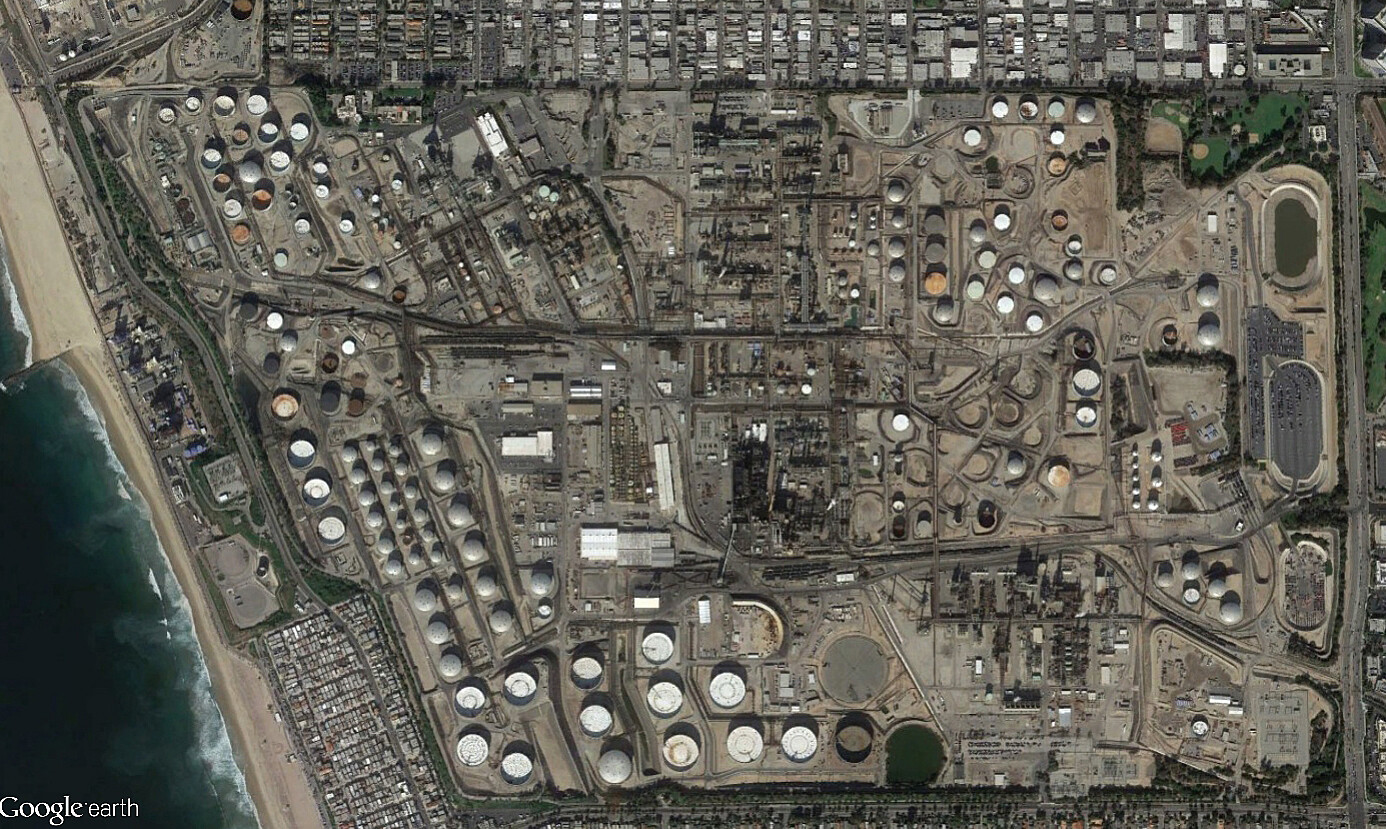 Refineries In California Map.The Center For Land Use Interpretation