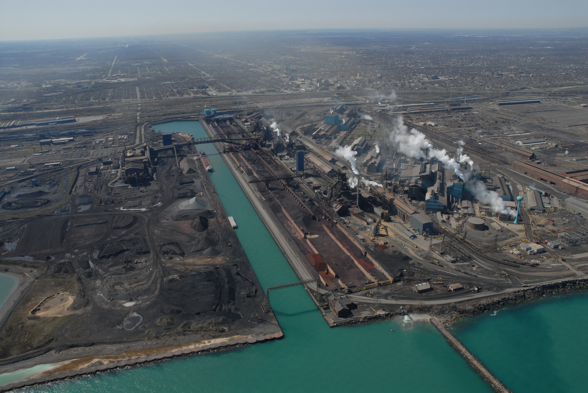 The Gary Works Of U S Steel Is The Second Largest Steel Works Operating In The Usa With A Steelmaking Capability Of 7 5 Million Tons Of Steel Per Year