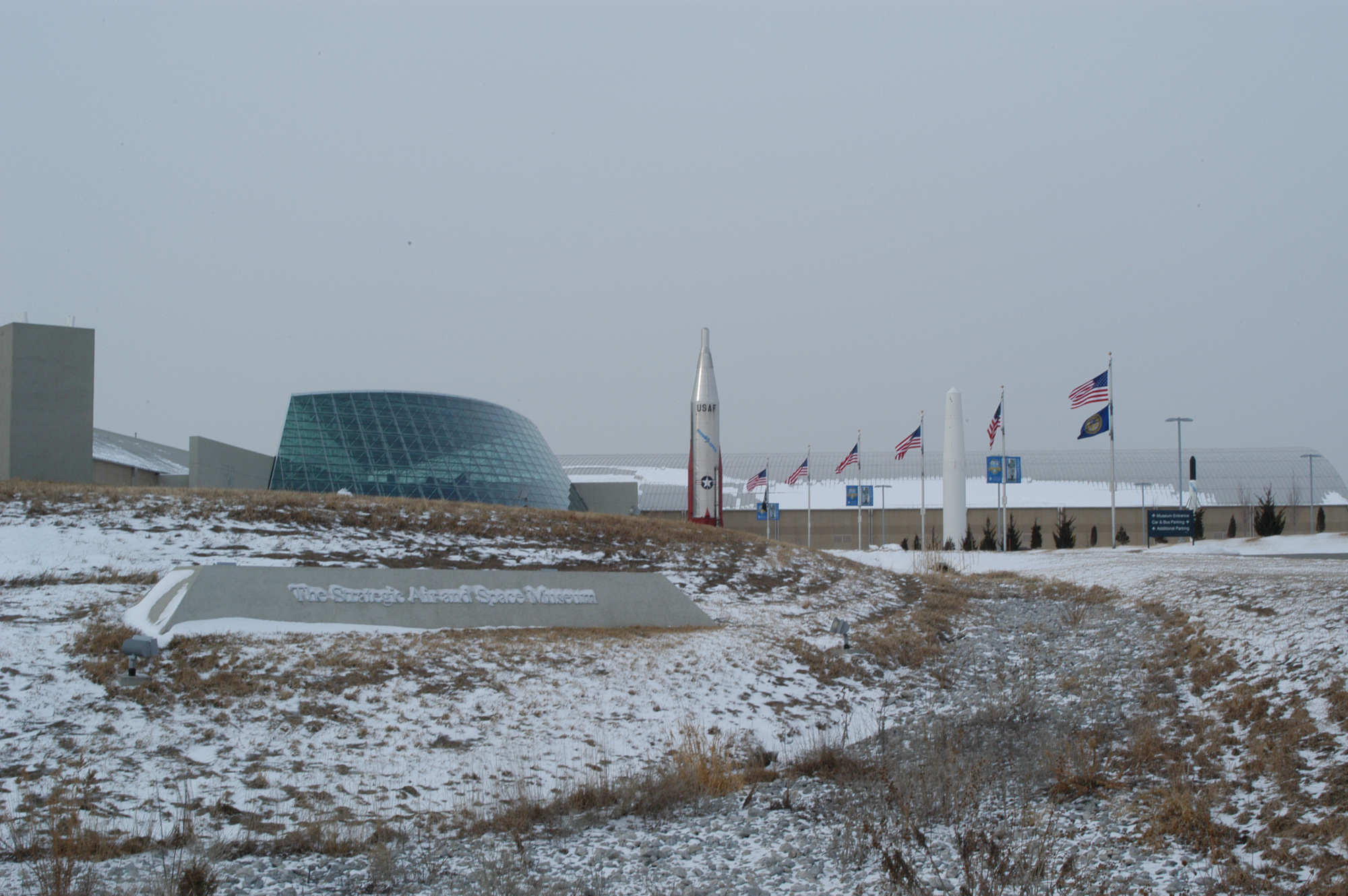 ad3eb8f1b6 The original museum, conceived by SAC commander and Pentagon-builder  General Curtis ...
