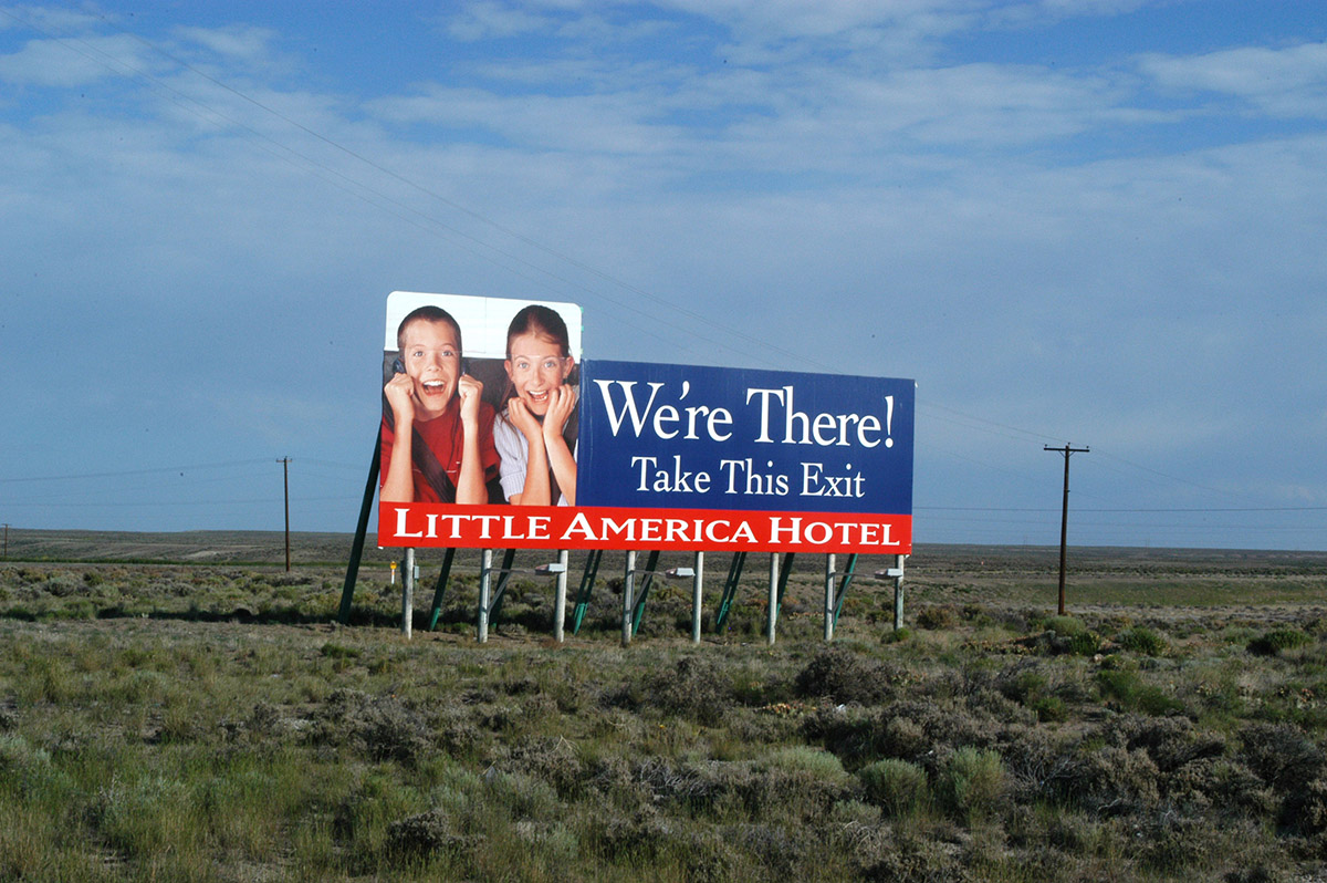 In The Southwest Corner Of Wyoming Is A Monument Car Travel Little America Known To Many For Its Barrage Billboards Along Interstate 80